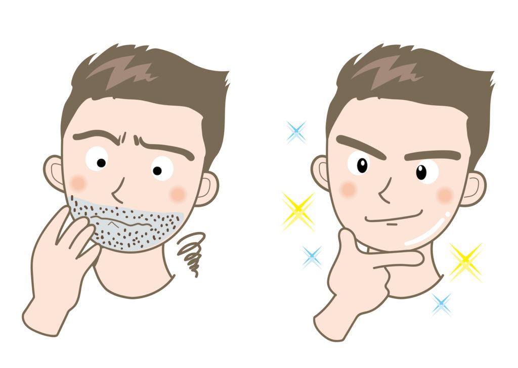 髭剃り用シェービングジェルをビオレ「しっかりクリアジェル」で代用!